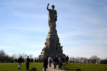 The Forefathers Monument in Plymouth