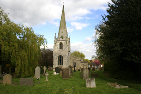 The St. Wilfrid's Church — Scrooby