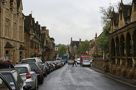 A view down the main street