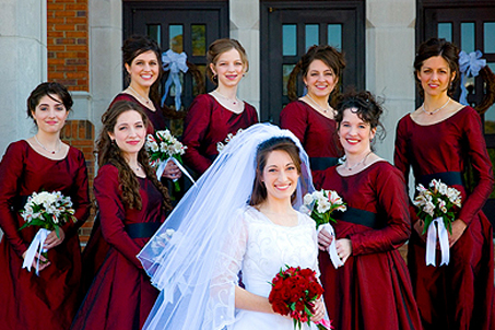 Seven Maids and one Matron
