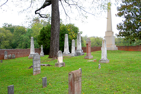It is thought that Madison's parents & grandparents are buried here also