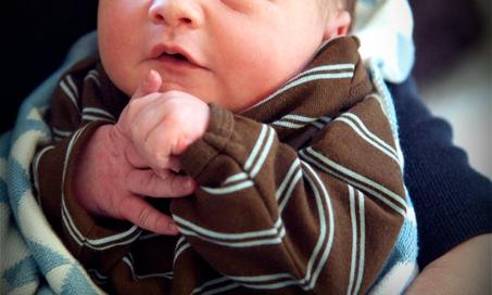 Our sweet little Calvin Blair — Born October 25, 2009 A.D.
