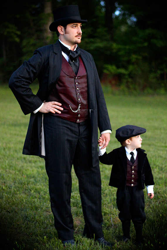 Lord Turley and Young Master Calvin