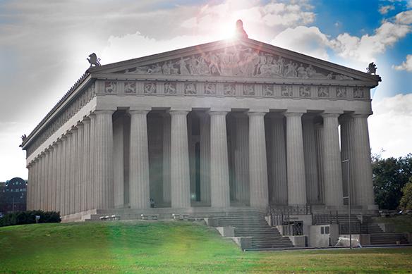 Nashville's Own Full-Scale Replica of the Parthenon