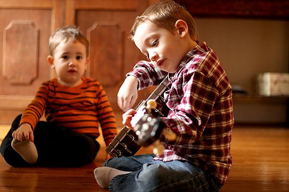 Pluckin' Granddaddy's Banjo