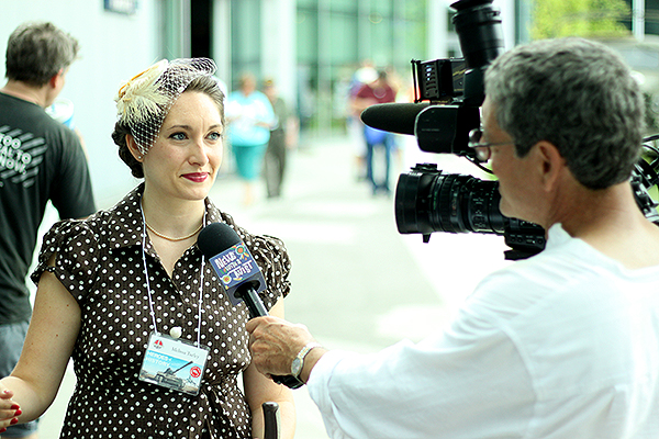 Melissa is Interviewed by a Local New Orleans News Outlet