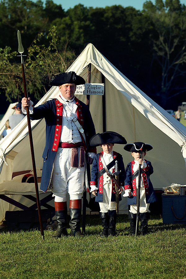 Special thanks to Capt. Ziegler for his hospitable welcome and tour of his captain's tent