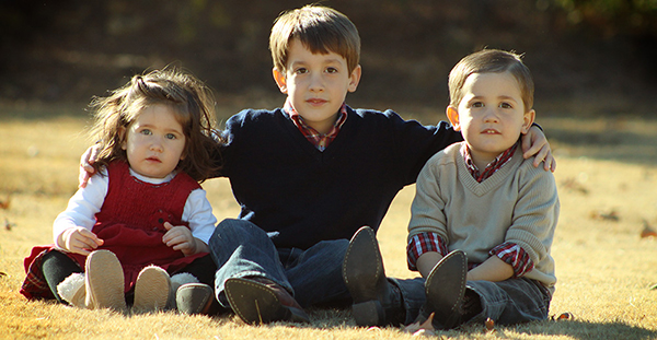 Children are a heritage of the Lord, the fruit of the womb is His reward