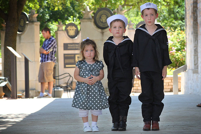 The Cutest Little History Buffs Ever